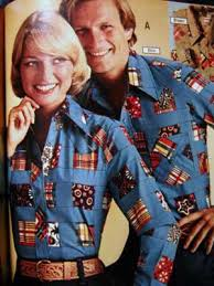 Seriously, I think my parents had those exact shirts.