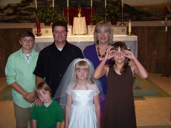 Kitty's First Communion